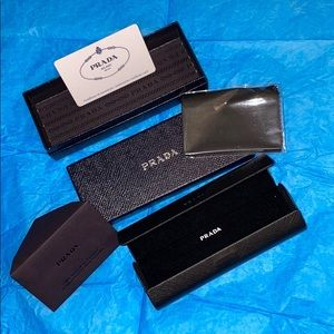 Prada glasses hard case and box